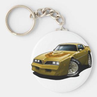 1977-78年のTRANS AMの金ゴールド キーホルダー