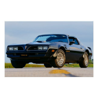 1978年のFirebird TRANS AM ポスター