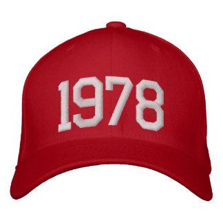 1978年 刺繍入りキャップ