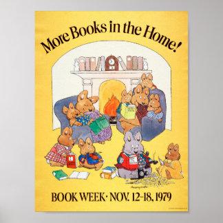 1979人の児童読書週間ポスター ポスター