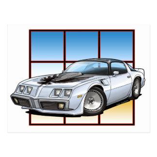 1979年のポンティアクTRANS AM ポストカード