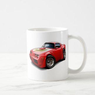 1979-81年のTRANS AMの赤車 コーヒーマグカップ