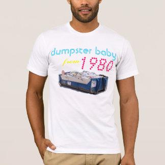 1980年からのダンプスターのベビー Tシャツ