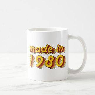 1980年に作られる(Yellow&Red) コーヒーマグカップ