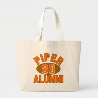 1980年の卒業生の懇親会のトートバックの一流パイパー ラージトートバッグ