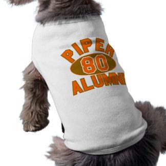 1980年の卒業生の懇親会の一流パイパー ペット服