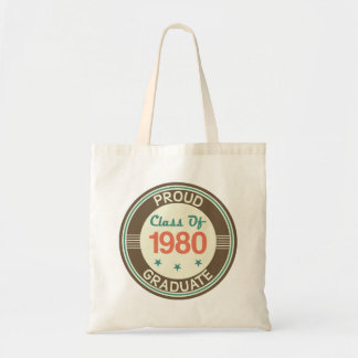 1980年の卒業生の誇りを持ったなクラス トートバッグ
