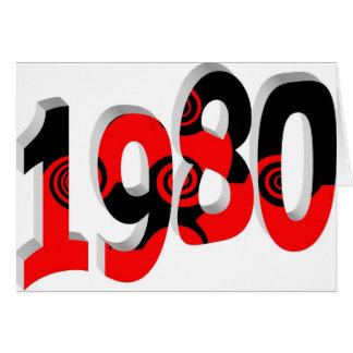 1980年 カード