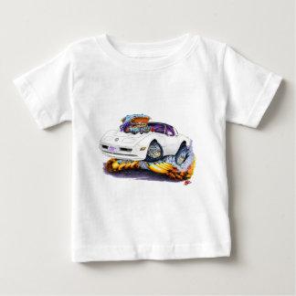 1980-82年のコルベットの白車 ベビーTシャツ