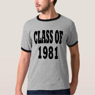 1981年のクラス Tシャツ