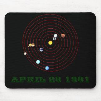 1981年4月28日 マウスパッド
