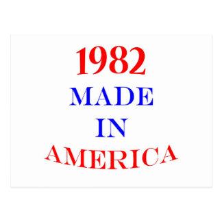 1982アメリカで作りました ポストカード
