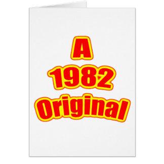 1982元の赤 カード