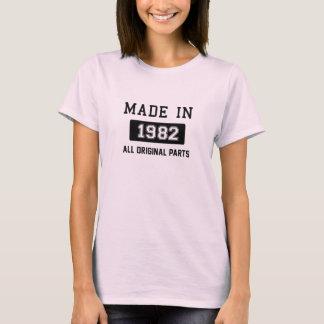 1982年に作られる-すべてのオリジナルの部品 Tシャツ