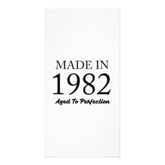 1982年に作られる カード