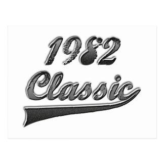 1982年のクラシック ポストカード