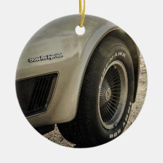 1982年のシボレー・コルベットのコレクターの版車輪 セラミックオーナメント