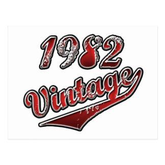1982年のヴィンテージ ポストカード