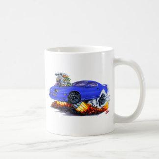 1982-92年のCamaroの青車 コーヒーマグカップ
