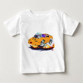 1982-92年のTRANS AMのオレンジ車 ベビーTシャツ