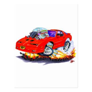 1982-92年のTRANS AMの赤車 ポストカード