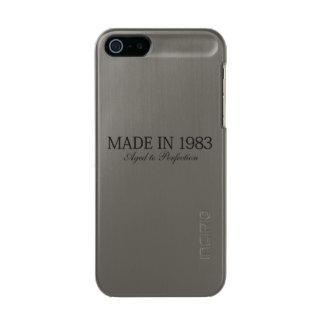 1983年に作られる メタリックiPhone SE/5/5sケース