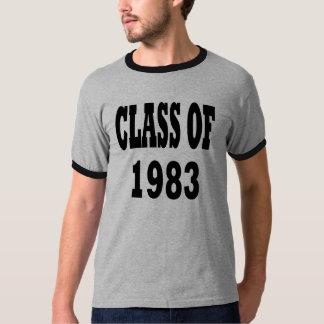 1983年のクラス Tシャツ
