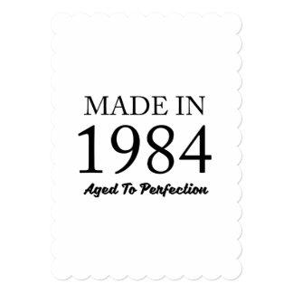 1984年に作られる カード