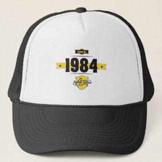 1984年に生まれて下さい(choco&yellow) キャップ
