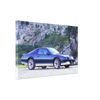 1984年のChevy Camaro Z28のプリント キャンバスプリント