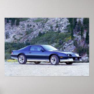 1984年のChevy Camaro Z28 ポスター