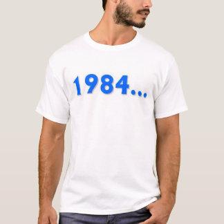 1984年は…決して忘れません Tシャツ