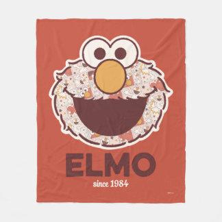 1984年以来のセサミストリート  Elmo フリースブランケット