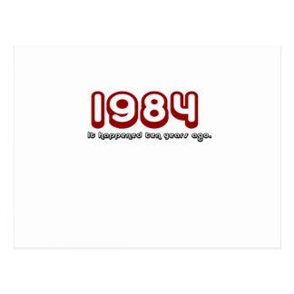 1984年 ポストカード