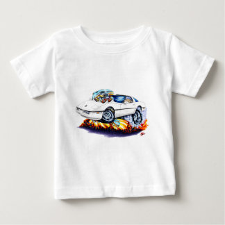 1984-93年のコルベットの白車 ベビーTシャツ