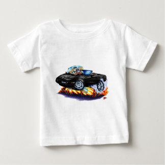 1984-93年のコルベットの黒いコンバーチブル ベビーTシャツ