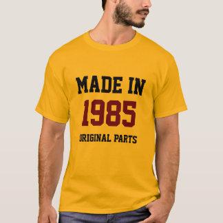 """""""1985年、元の部品に作られて"""" Tシャツ"""
