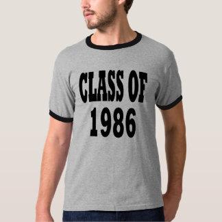 1986年のクラス Tシャツ