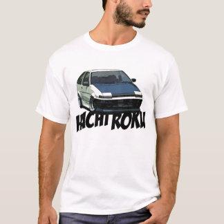 1986年の花冠AE86 Tシャツ