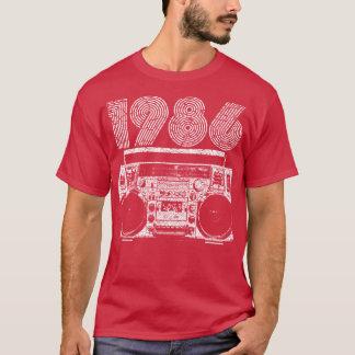 1986年のBoombox Tシャツ