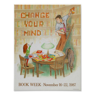 1987人の児童読書週間ポスター ポスター