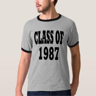 1987年のクラス Tシャツ
