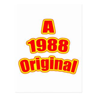 1988元の赤 ポストカード