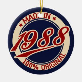 1988年に作られる セラミックオーナメント