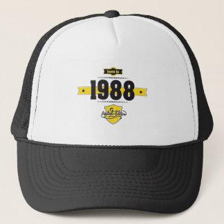 1988年に生まれて下さい(choco&yellow) キャップ