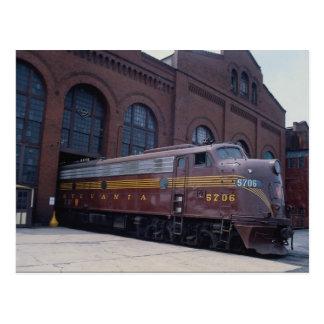 1988年に、に関して元通りになるペンシルバニアの鉄道EMD E-8 ポストカード
