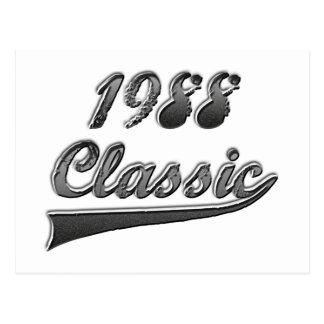 1988年のクラシック ポストカード