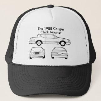 1988年の水星のクーガー キャップ