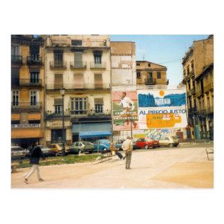1988年頃バレンシアスペイン ポストカード