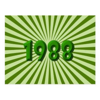 1988年 ポストカード